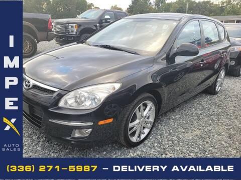 2009 Hyundai Elantra for sale at Impex Auto Sales in Greensboro NC
