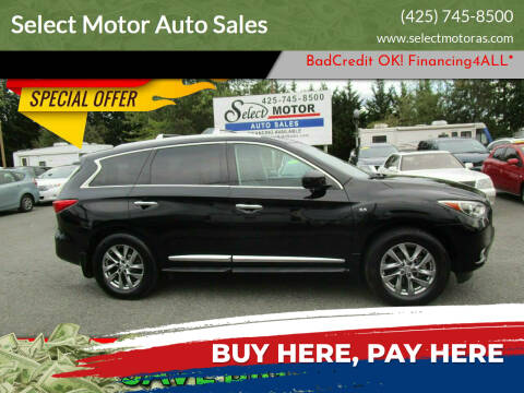 2014 Infiniti QX60 for sale at Select Motor Auto Sales in Lynnwood WA