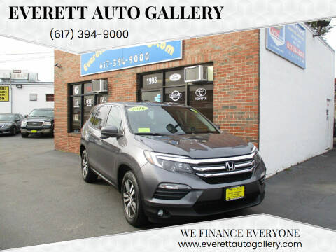 2016 Honda Pilot for sale at Everett Auto Gallery in Everett MA
