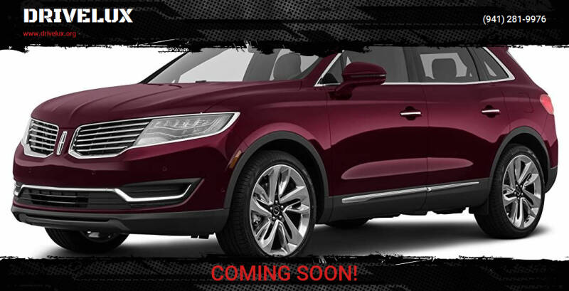 2018 Lincoln MKX for sale at DRIVELUX in Port Charlotte FL