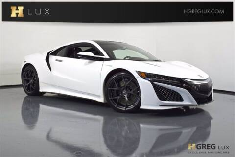 2017 Acura NSX for sale at HGREG LUX EXCLUSIVE MOTORCARS in Pompano Beach FL