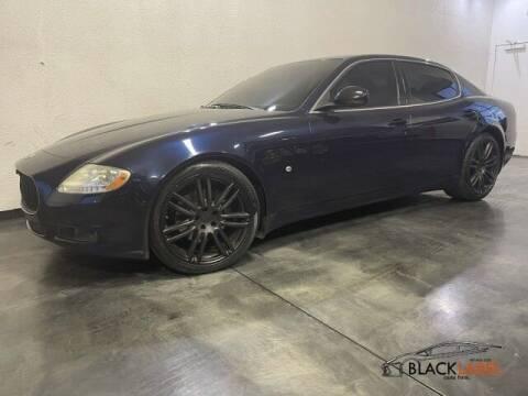 2010 Maserati Quattroporte for sale at BLACK LABEL AUTO FIRM in Riverside CA