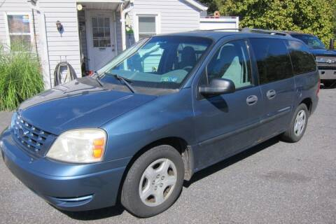 2006 Ford Freestar for sale at K & R Auto Sales,Inc in Quakertown PA