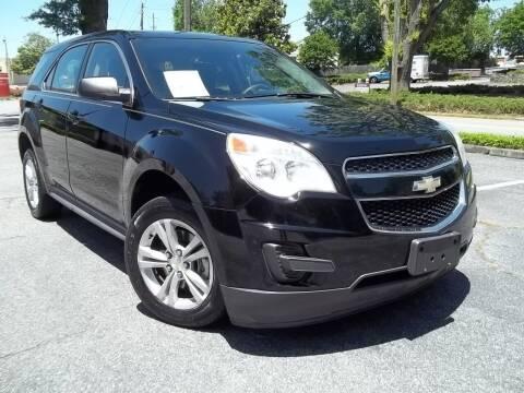 2012 Chevrolet Equinox for sale at CORTEZ AUTO SALES INC in Marietta GA