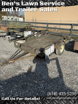 1994 Homemade 5X8 Tilt for sale at Ben's Lawn Service and Trailer Sales in Benton IL