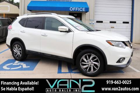 2014 Nissan Rogue for sale at Van 2 Auto Sales Inc in Siler City NC