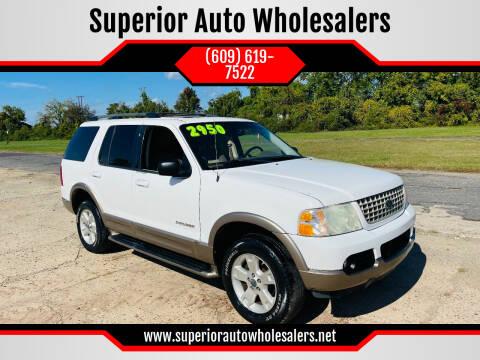 2004 Ford Explorer for sale at Superior Auto Wholesalers in Burlington NJ