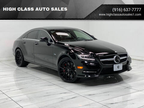 2012 Mercedes-Benz CLS for sale at HIGH CLASS AUTO SALES in Rancho Cordova CA