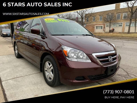 2007 Honda Odyssey for sale at 6 STARS AUTO SALES INC in Chicago IL
