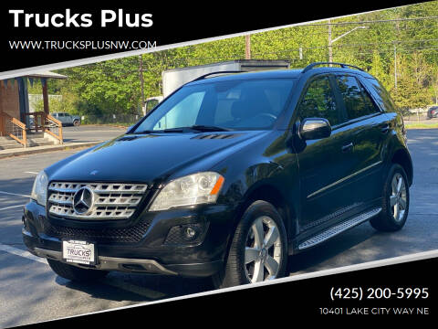 2009 Mercedes-Benz M-Class for sale at Trucks Plus in Seattle WA