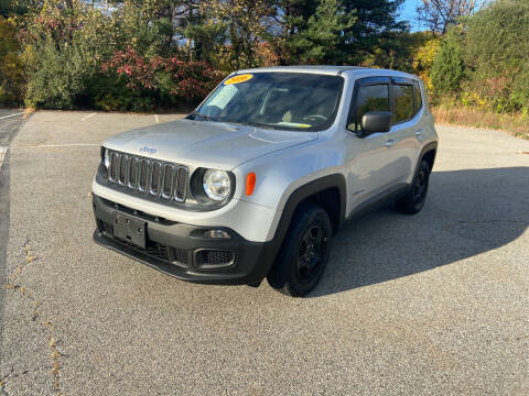 2016 Jeep Renegade for sale at Westford Auto Sales in Westford MA