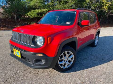 2016 Jeep Renegade for sale at Granite Auto Sales in Spofford NH