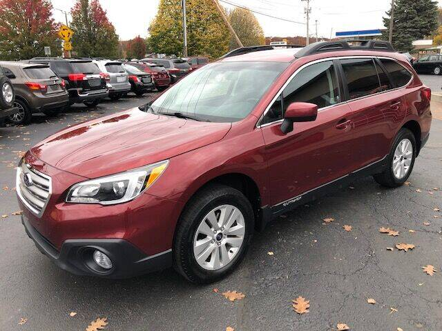 2017 Subaru Outback for sale at BATTENKILL MOTORS in Greenwich NY