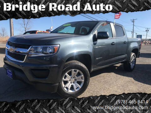 2019 Chevrolet Colorado for sale at Bridge Road Auto in Salisbury MA