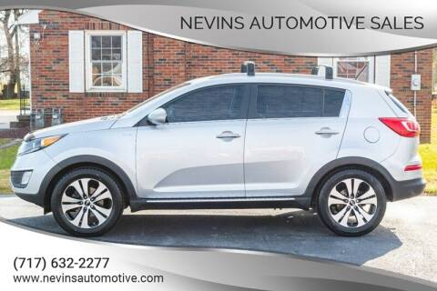 2013 Kia Sportage for sale at Nevins Automotive Sales in Hanover PA