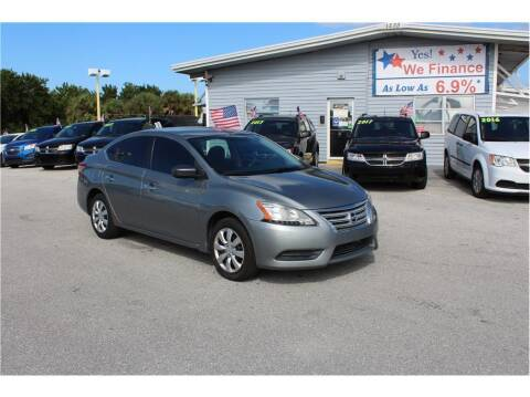 2013 Nissan Sentra for sale at My Value Car Sales in Venice FL