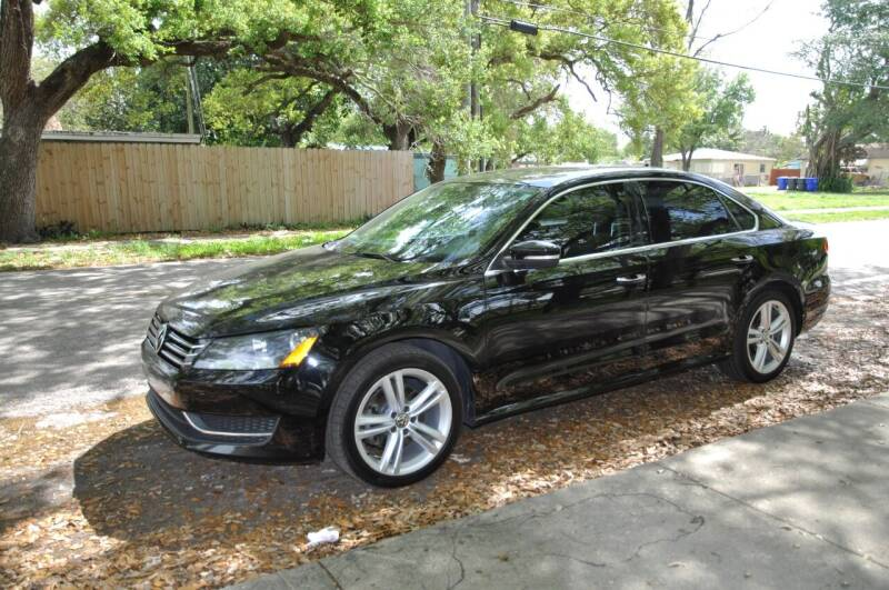 2014 Volkswagen Passat for sale at INTERNATIONAL AUTO BROKERS INC in Hollywood FL