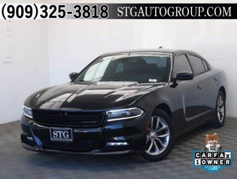 2015 Dodge Charger for sale at STG Auto Group in Montclair CA