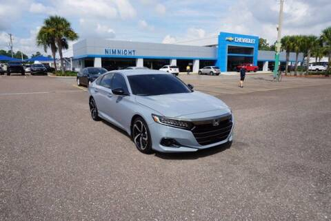 2021 Honda Accord for sale at WinWithCraig.com in Jacksonville FL