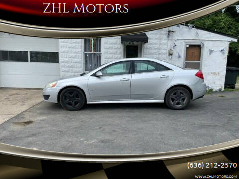 2010 Pontiac G6 for sale at ZHL Motors in House Springs MO