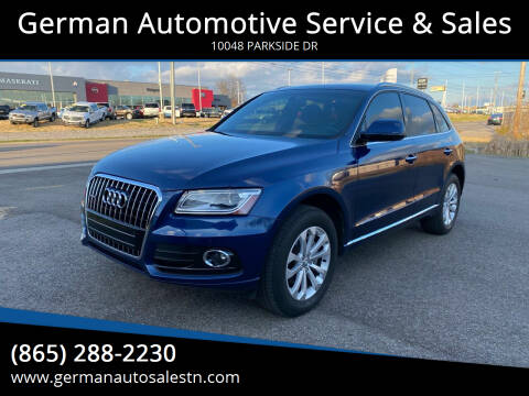 2015 Audi Q5 for sale at German Automotive Service & Sales in Knoxville TN