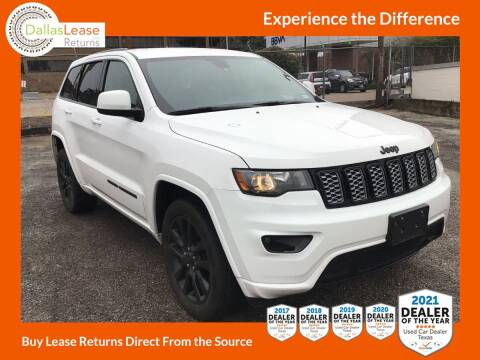 2018 Jeep Grand Cherokee for sale at Dallas Auto Finance in Dallas TX