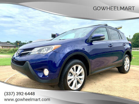 2014 Toyota RAV4 for sale at GOWHEELMART in Leesville LA