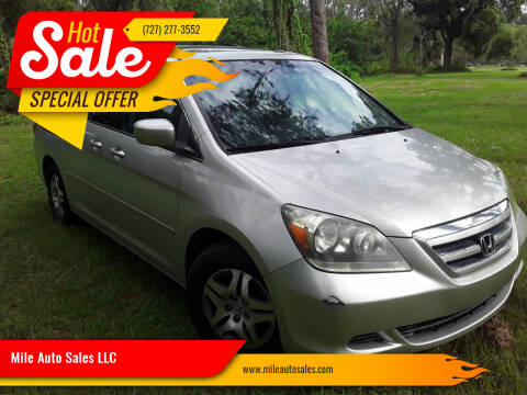 2007 Honda Odyssey for sale at Mile Auto Sales LLC in Holiday FL