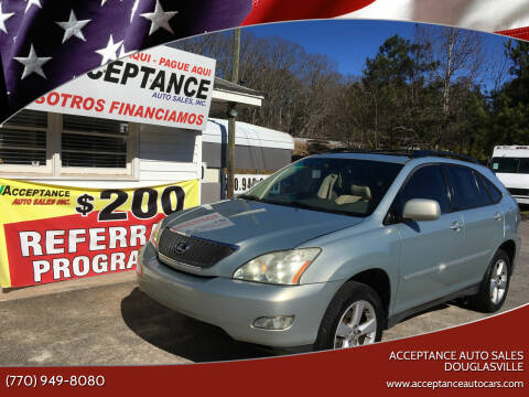 2005 Lexus RX 330 for sale at Acceptance Auto Sales Douglasville in Douglasville GA