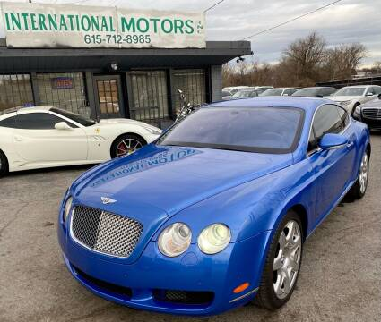 2006 Bentley Continental for sale at International Motors Inc. in Nashville TN