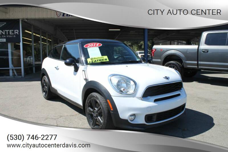2014 MINI Paceman for sale at City Auto Center in Davis CA
