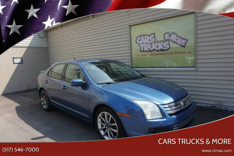2009 Ford Fusion for sale at Cars Trucks & More in Howell MI