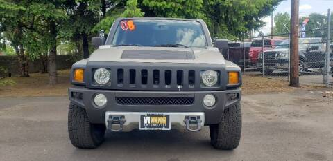 2008 HUMMER H3 for sale at VIking Auto Sales LLC in Salem OR