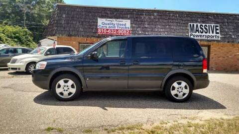 2006 Pontiac MONTANNA for sale at Kenny's Korner in Hartland MI