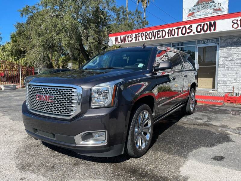 2017 GMC Yukon XL for sale at Always Approved Autos in Tampa FL