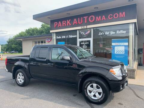 2012 Nissan Frontier for sale at Park Auto LLC in Palmer MA