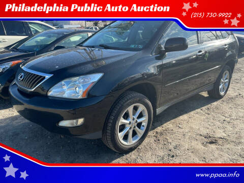 2009 Lexus RX 350 for sale at Philadelphia Public Auto Auction in Philadelphia PA