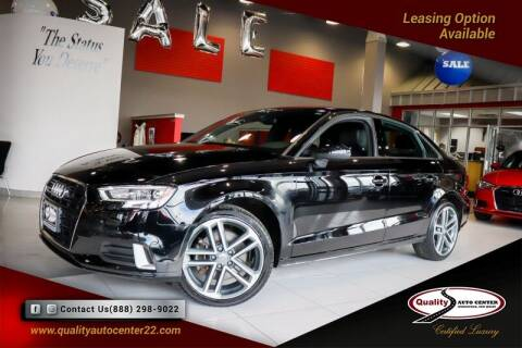 2018 Audi A3 for sale at Quality Auto Center in Springfield NJ