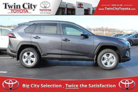 2021 Toyota RAV4 Hybrid for sale at Twin City Toyota in Herculaneum MO
