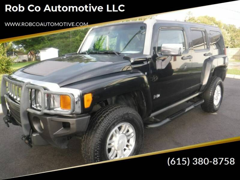 2006 HUMMER H3 for sale at Rob Co Automotive LLC in Springfield TN