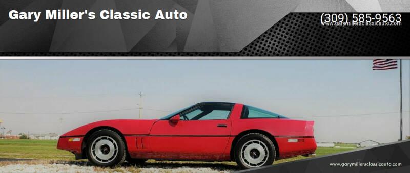 1985 Chevrolet Corvette for sale at Gary Miller's Classic Auto in El Paso IL