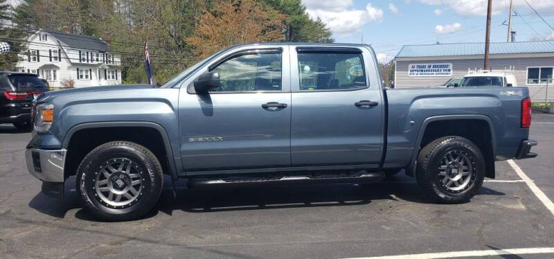 2014 GMC Sierra 1500 for sale at Healey Auto in Rochester NH