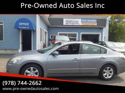 2007 Nissan Altima for sale at Pre-Owned Auto Sales Inc in Salem MA