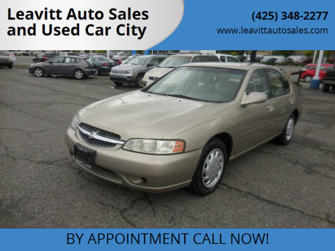 2000 Nissan Altima for sale at Leavitt Auto Sales and Used Car City in Everett WA