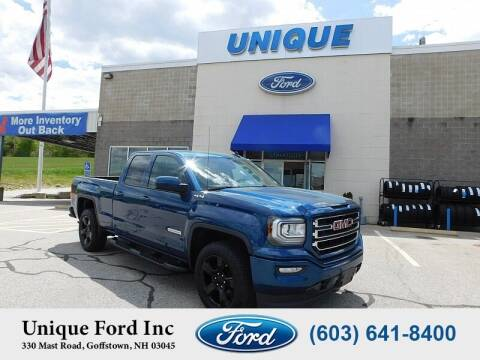 2018 GMC Sierra 1500 for sale at Unique Motors of Chicopee - Unique Ford in Goffstown NH
