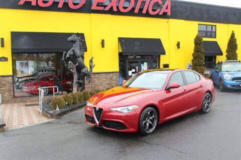 2017 Alfa Romeo Giulia for sale at Auto Exotica in Red Bank NJ