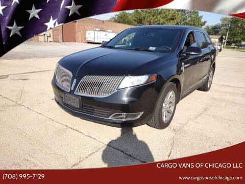 2016 Lincoln MKT Town Car for sale at Cargo Vans of Chicago LLC in Mokena IL