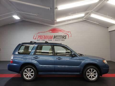 2007 Subaru Forester for sale at Premium Motors in Villa Park IL