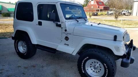 2000 Jeep Wrangler for sale at Haigler Motors Inc in Tyler TX
