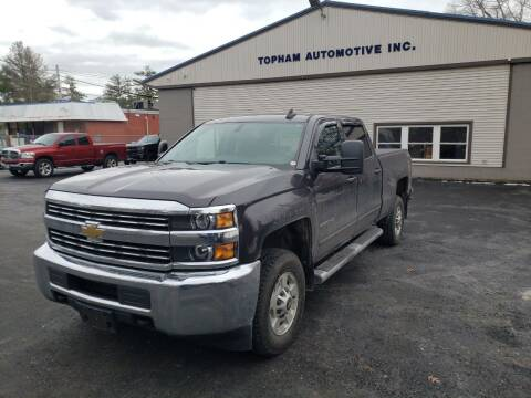2015 Chevrolet Silverado 2500HD for sale at Topham Automotive Inc. in Middleboro MA